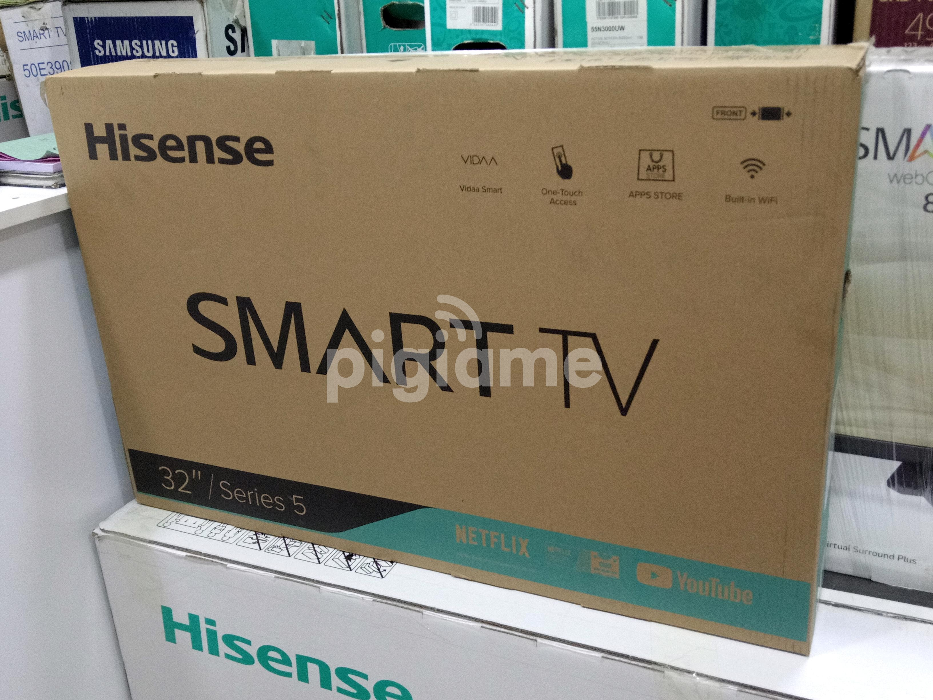 New Hisense Smart 32 Inch TV With Netflix YouTube WiFi Brand New at KSh  23,000