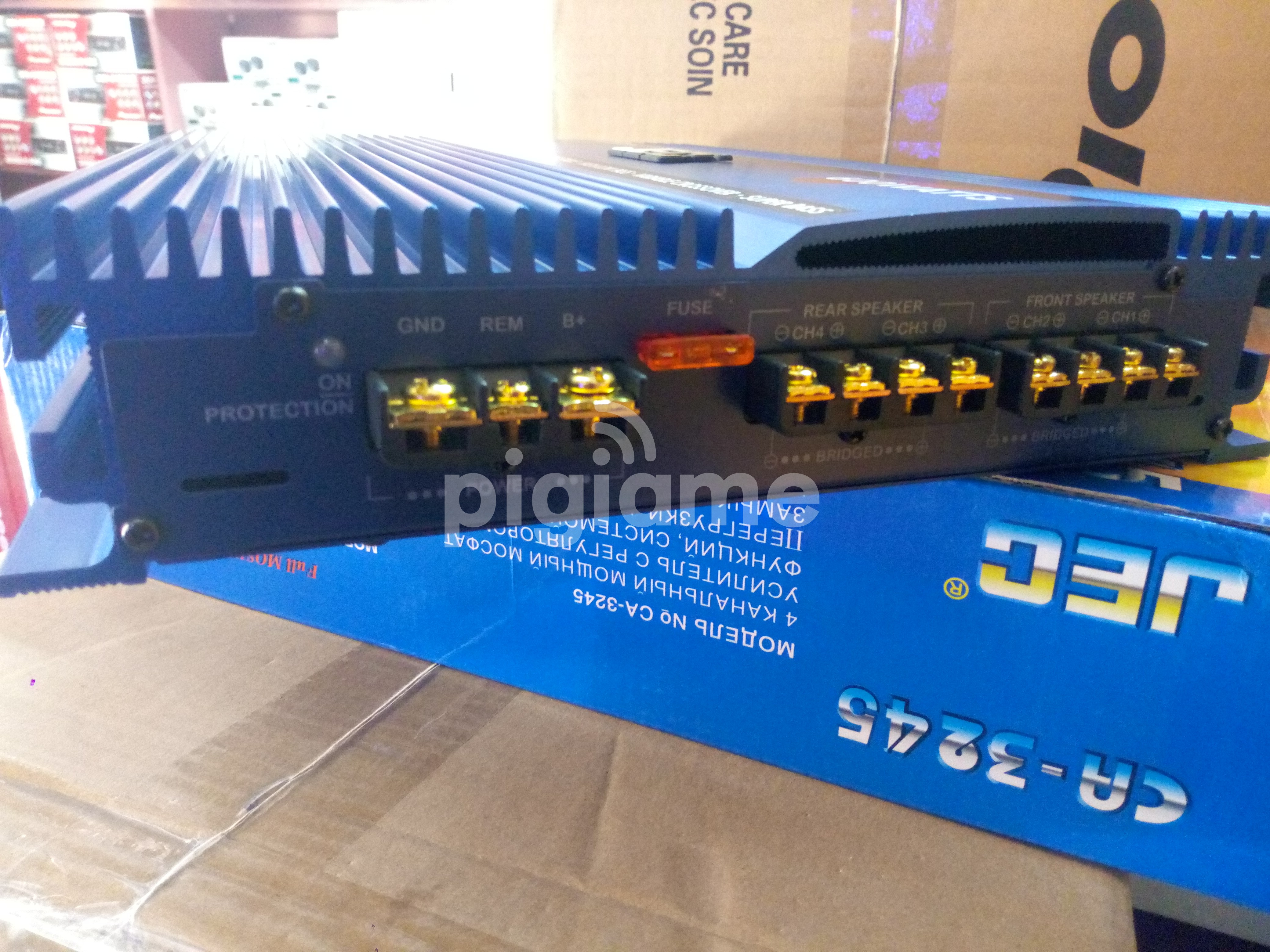 New JEC CA-3245 4 Channel Car Amplifier-600w at KSh 11,500