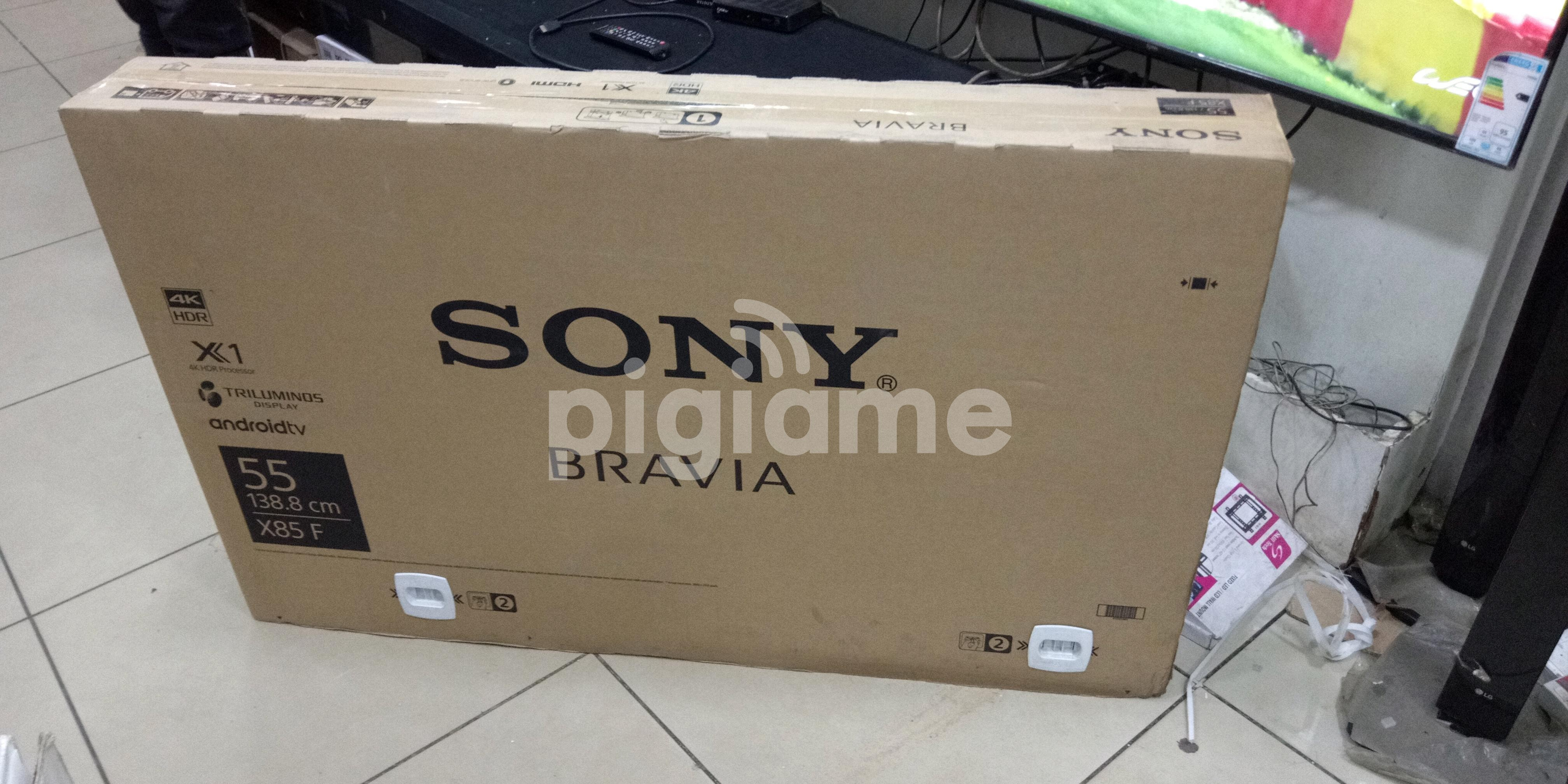 New Sony Bravia X8500F Android 4K 55 Inch Smart TV With Google Playstore  Netflix YouTube WiFi Brand New at KSh 98,950