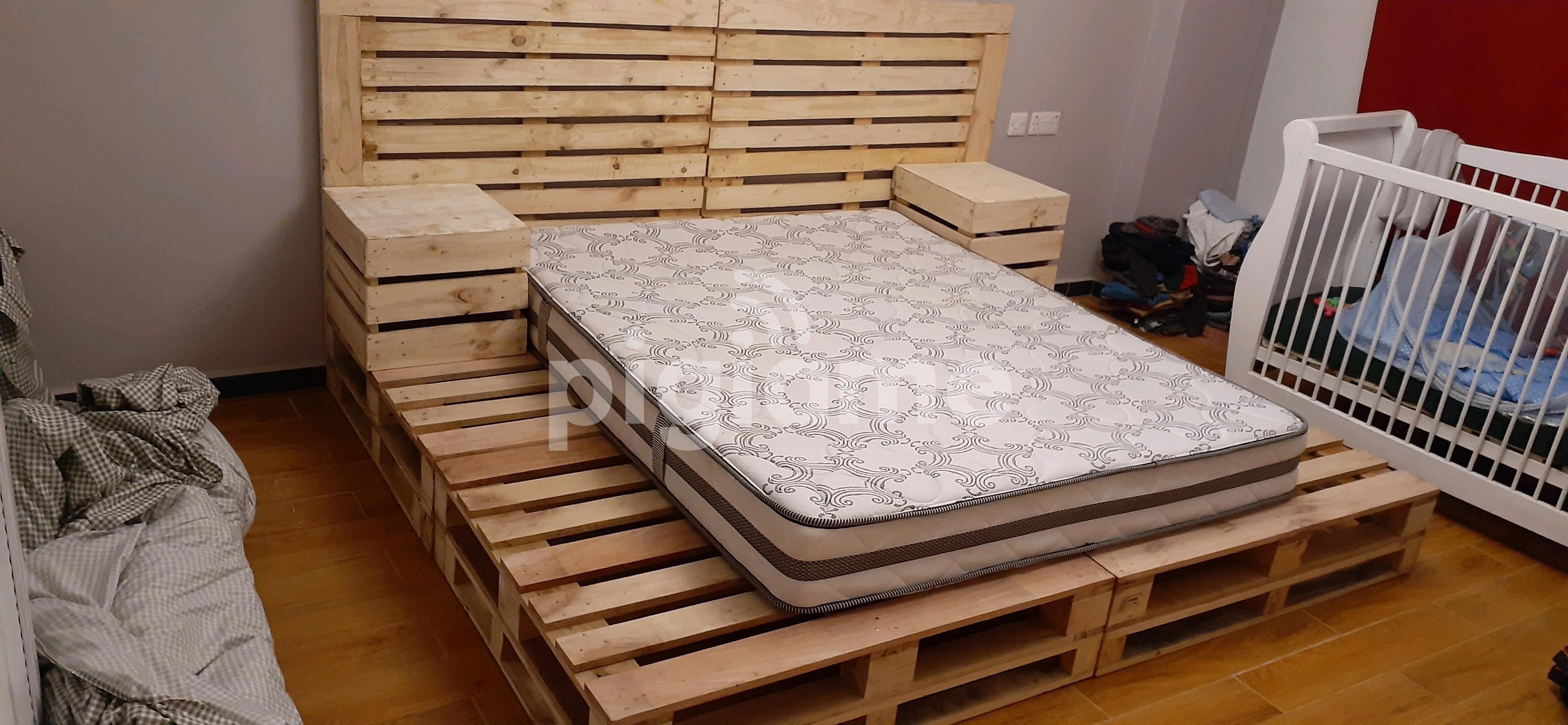 Elegant Pallet Bed Pallet Bed King Size Bed Pallet Furniture In Nairobi Pigiame
