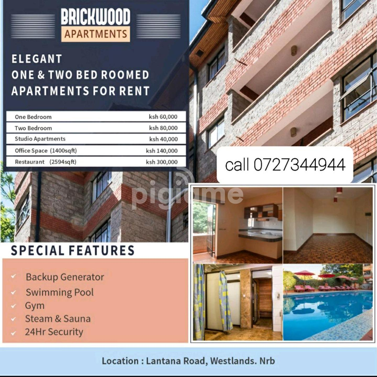 Studio 1 Bedroom And 2 Bedroom Apartments For Rent In Nairobi Pigiame