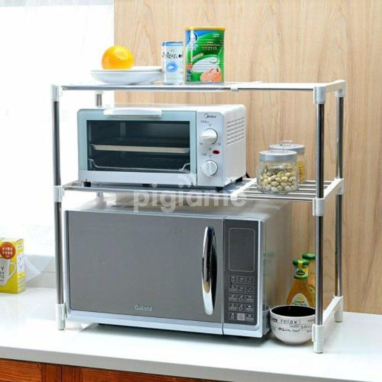 adjustable microwave stand