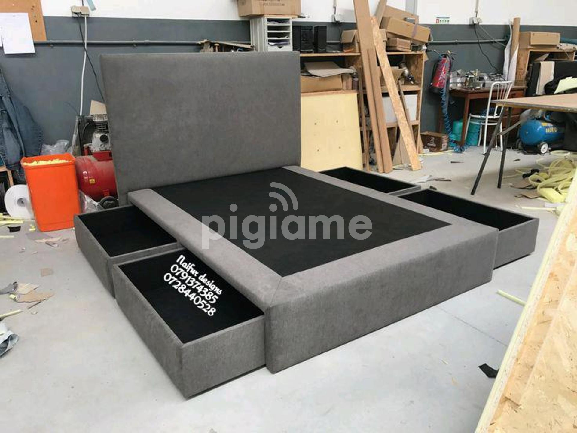 Latest Bed Designs Grey Beds Beds With Under Drawers Beds With Storage Drawers Modern 6 6 Beds In Nairobi Pigiame
