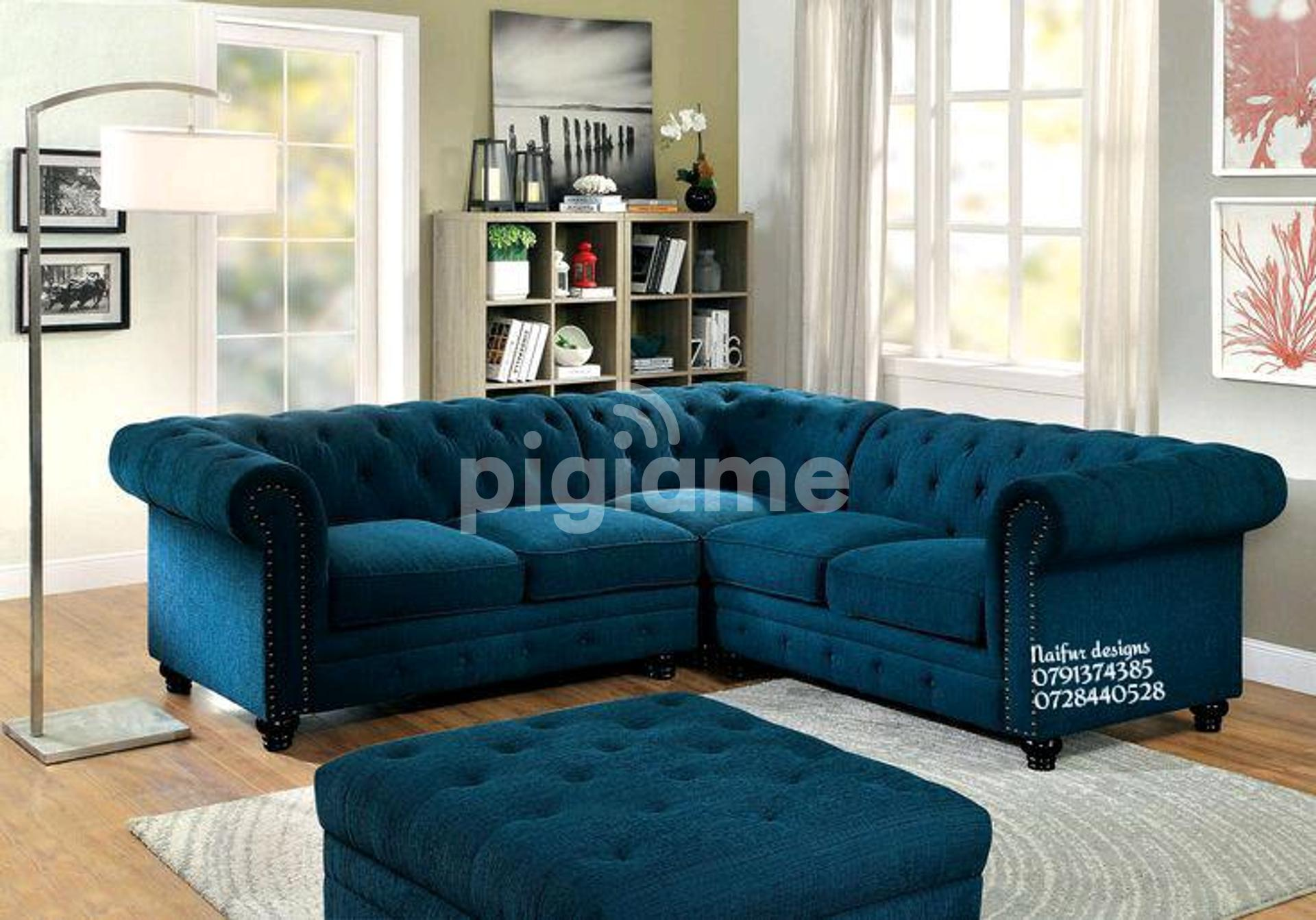 Chesterfield Sofas L Shaped Sofas Sectional Couch Five Seater Sofas In Nairobi Pigiame