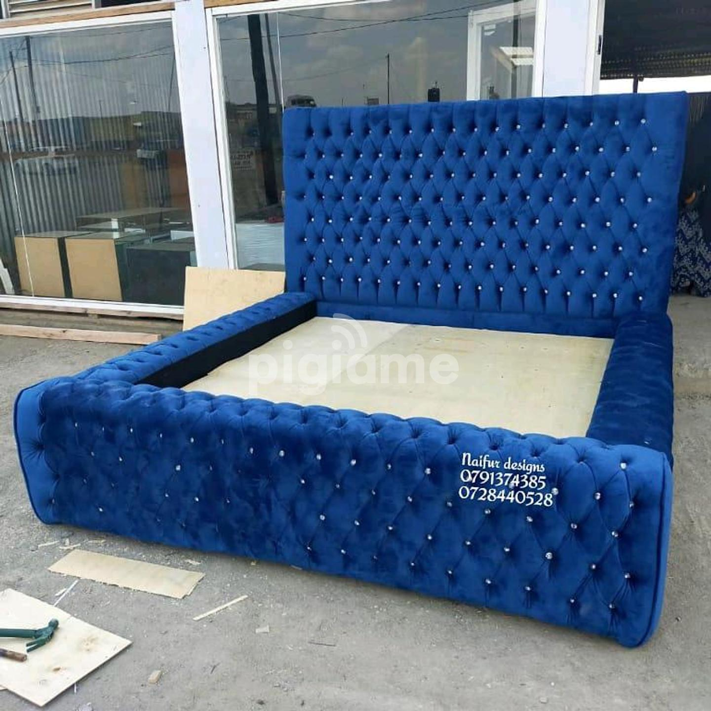 Picture of: Tufted Beds Modern Beds Beds Classic Beds King Size Bed In Nairobi Pigiame