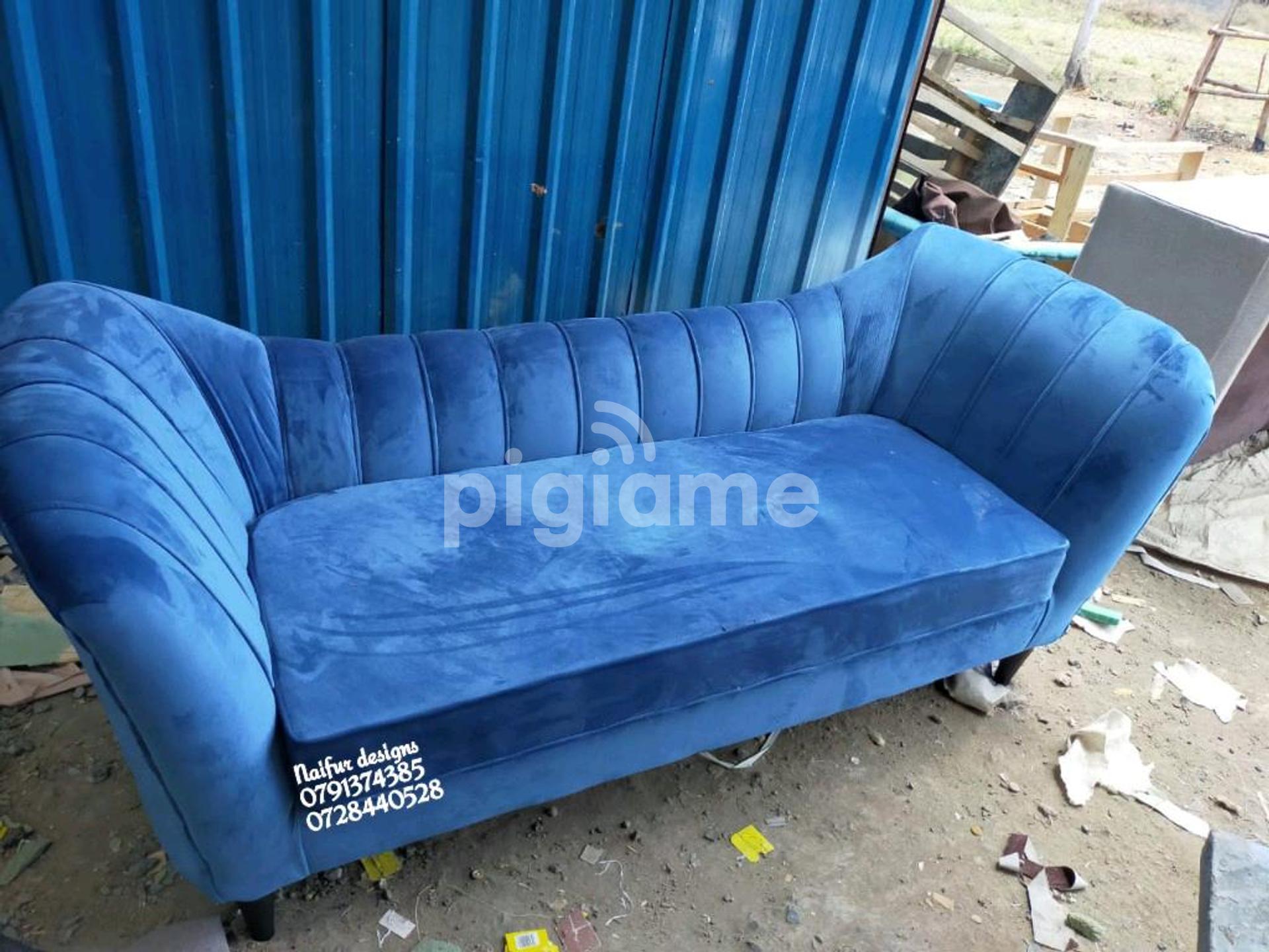 Modern Blue Sofas Chaise Lounge Sofas In Nairobi Pigiame