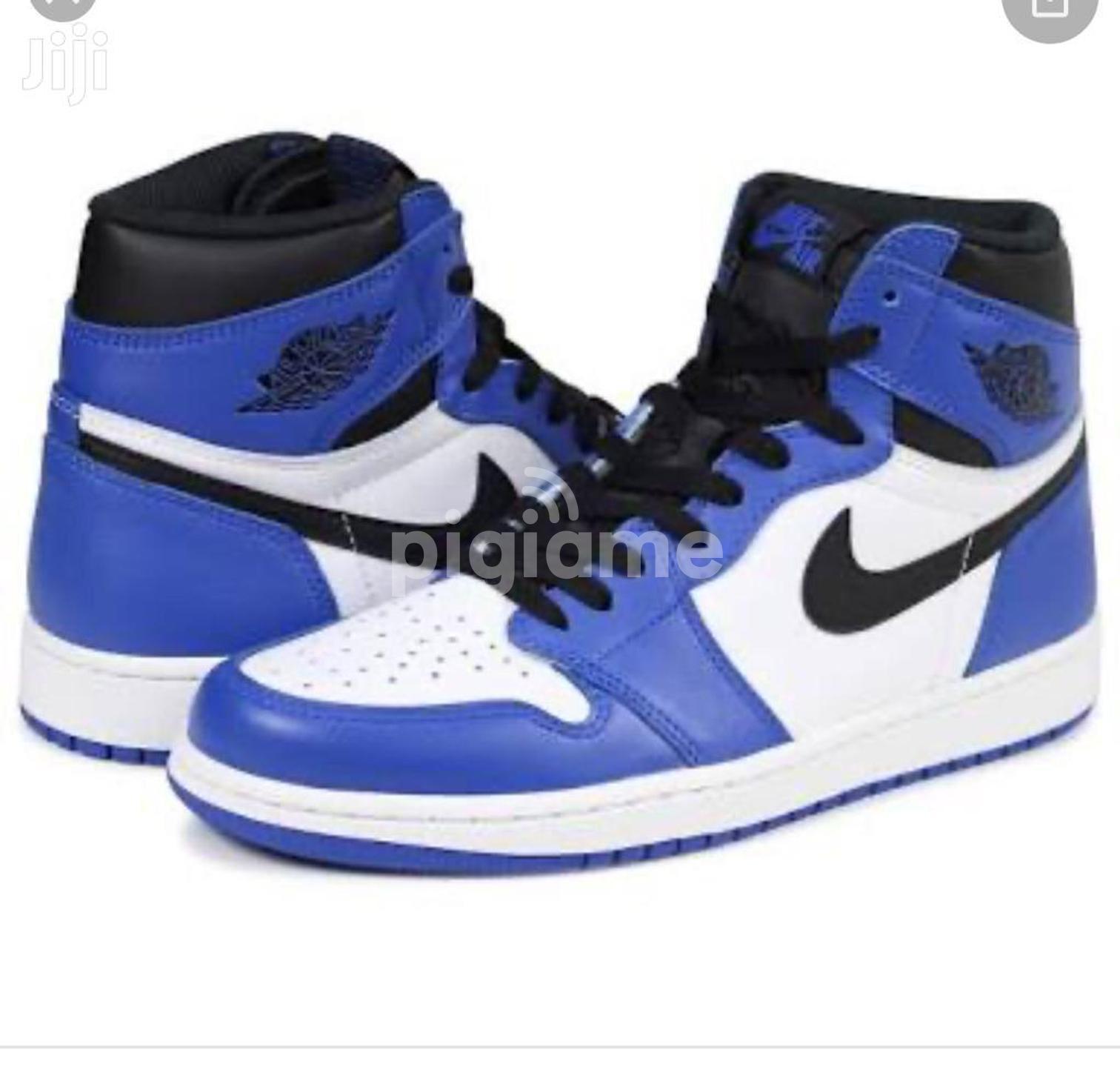 Mid SE Lakers Basketball Shoes Blue