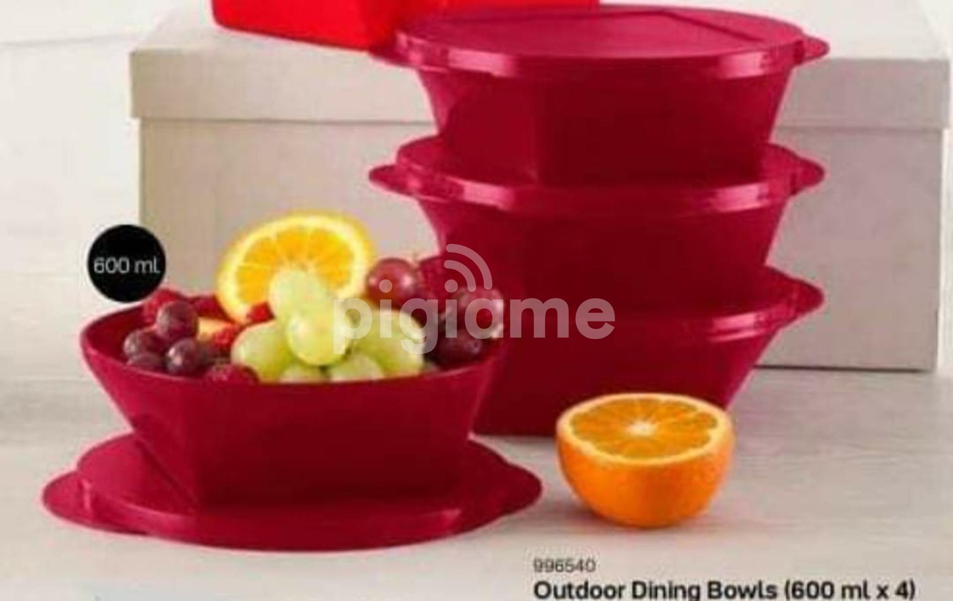 Tupperware Outdoor Dining Bowls 600 Ml X 4 In Nairobi Pigiame