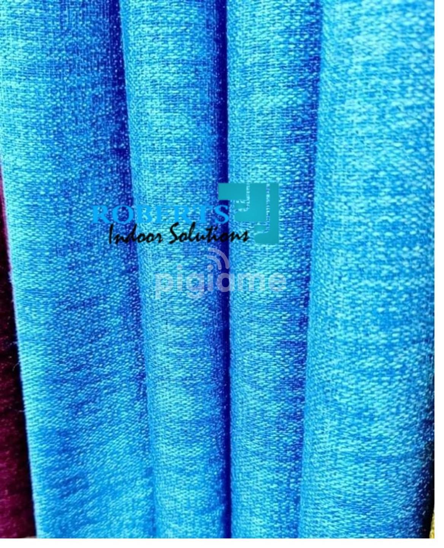 Light Blue Linen Curtains In Nairobi Pigiame