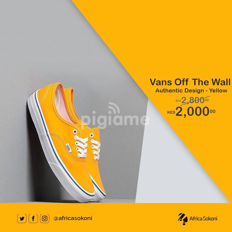 Vans Sneakers - Yellow in Nairobi   PigiaMe