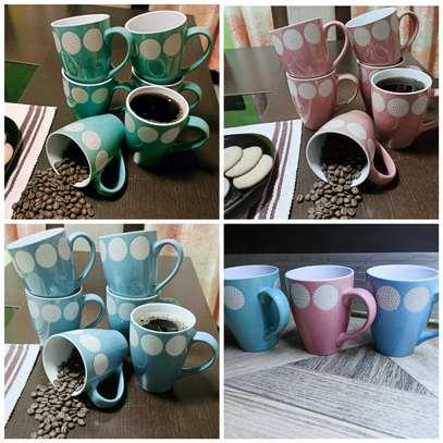 12 pieces Quality ceramic mugs image 1