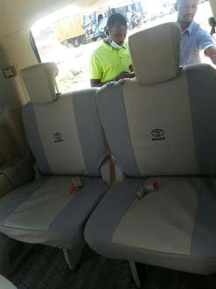 Custom made car seat covers image 1