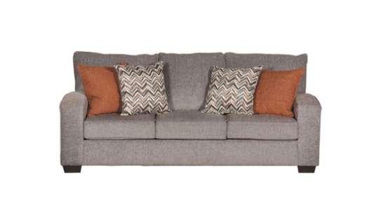 Warm brown sofa image 1
