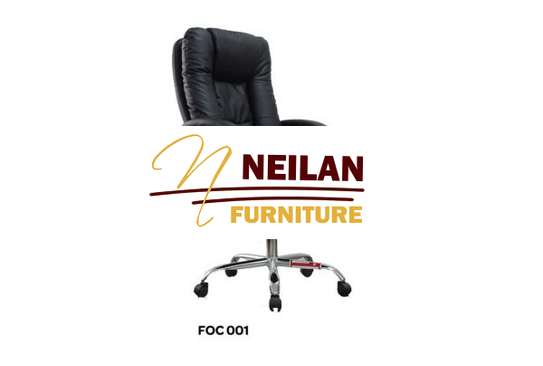 Executive Leather office chair in Kisii Kenya at Neilan furniture image 1