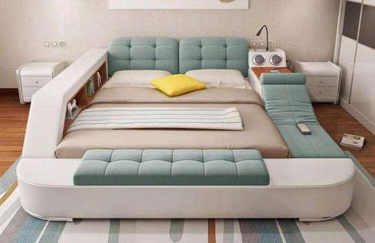 Multifunctional beds with multi storage space image 5