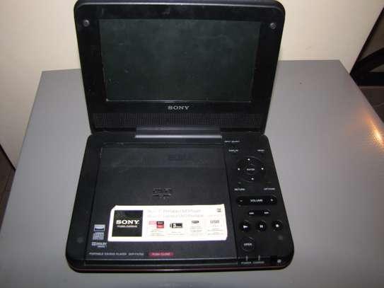Portable Sony DVD player.