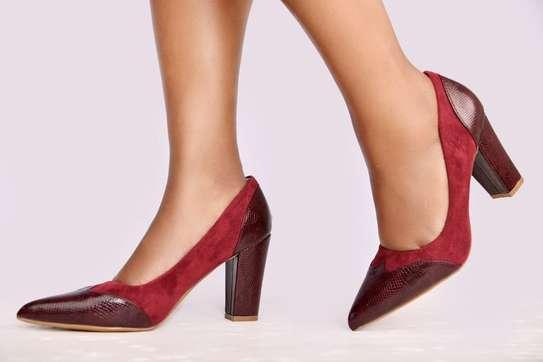 Chunky closed heels image 2