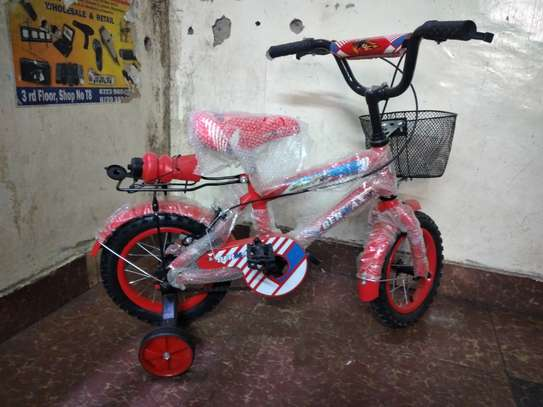 12inch red bermax kids bike image 1