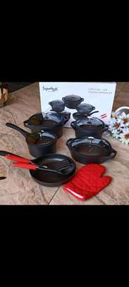 12 pieces cookware set image 2