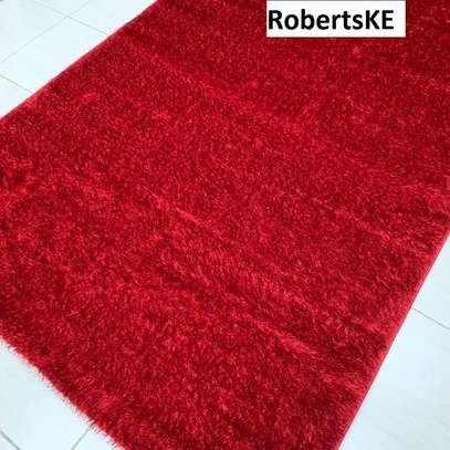 red turkish soft carpet 6*9 image 1
