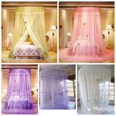 Big Round Mosquito Net, King Size image 1