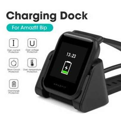 Amazfit Bip Charger, Portable Replacement USB Charger Charging Stand Adapter Station Cradle Dock with Cable for Amazfit Bip image 6