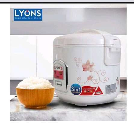 1.8 litres automatic rice/pressure cooker image 1