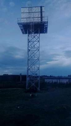 100,000l Steel Water Tank on 16m Water Tower image 4