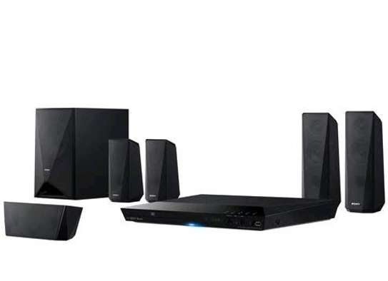Sony DAV-DZ350 1000W 5.1CH HOMETHEATRE SYSTEM, - Black