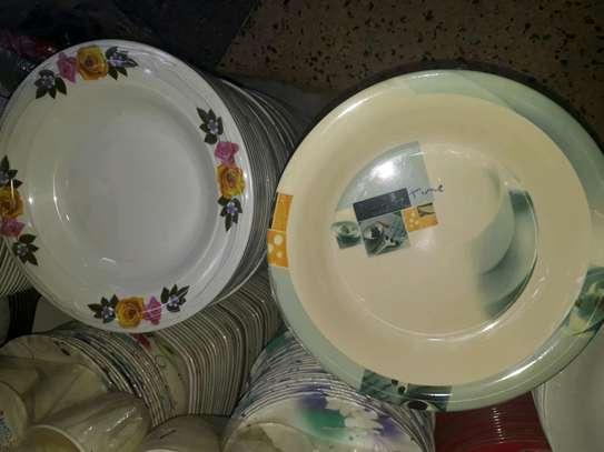 12pc Melamine dinner plates/Extra heavy melamine plate/12pc Plates image 7