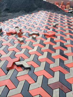 3D Coloured Paving Blocks/ Cabros image 6