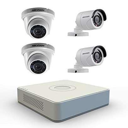 4 CCTV CAMERAS PACKAGE image 2