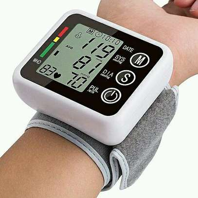 Wrist blood pressure machine image 1