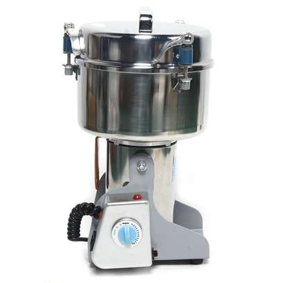 Commercial Electric Herb Grain Grinder Cereal Powder Flour Mill Grinding Machine image 2