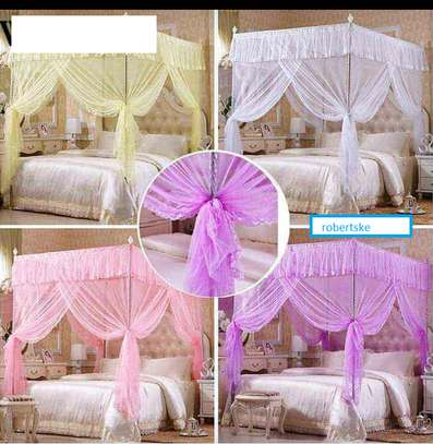Classy pink,white,Mosquito Nets image 1
