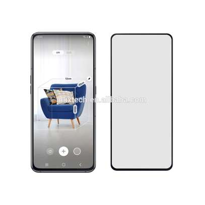 5D HD Clear Tempered Glass Front Screen Protector for Samsung A80 image 3
