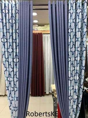 printed stylish curtain image 1