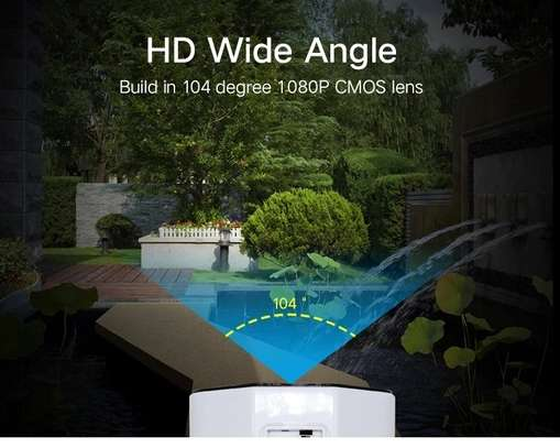 Solar IP IR 1080P camera 2MP motion detection security camera image 3