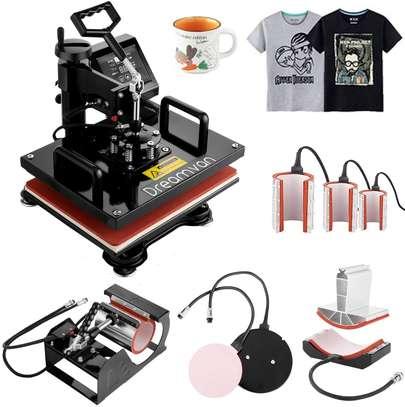 Heat Press, Heat Transfer Machine 12X15 8IN1 image 1