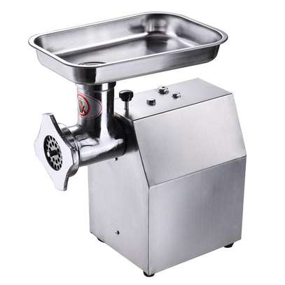 COMMERCIAL ELECTRIC MEAT MINCER  silver TK12 image 1