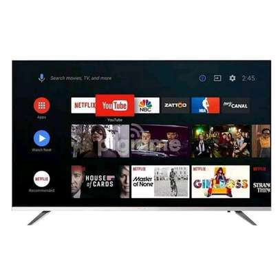 "SKYWORTH – 50"" – Smart Digital UHD 4K HDR Android TV – Black image 1"