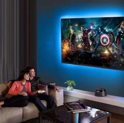 Ultimate TV Light Strips With Bluetooth LED controller app control by mobile phone image 2