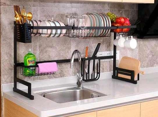 Oversink kitchen dry rack image 2