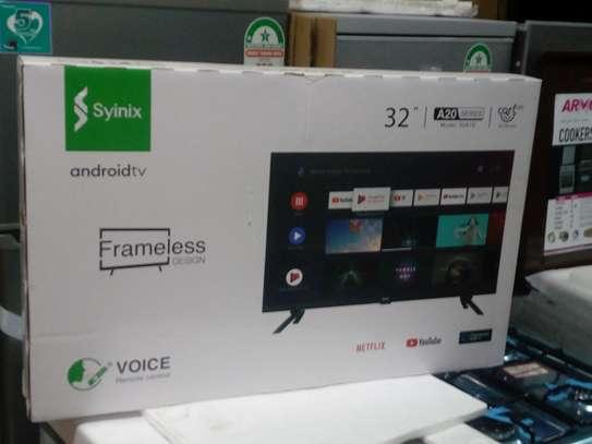 Syinix 32 Smart Tv Frameless image 1