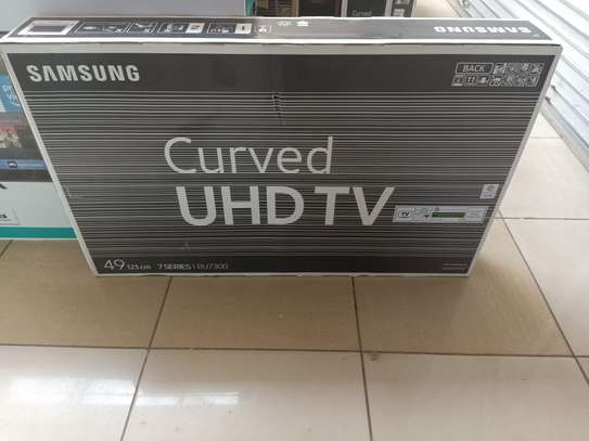 """49""""inchSamsung curved smart uhd tv image 1"""