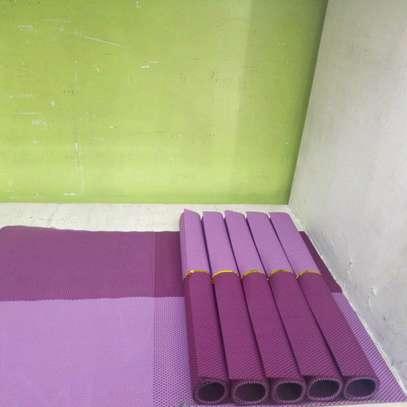 6pcs PVC table mats image 3