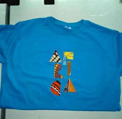 Customized Ankara AFRICA T-Shirt