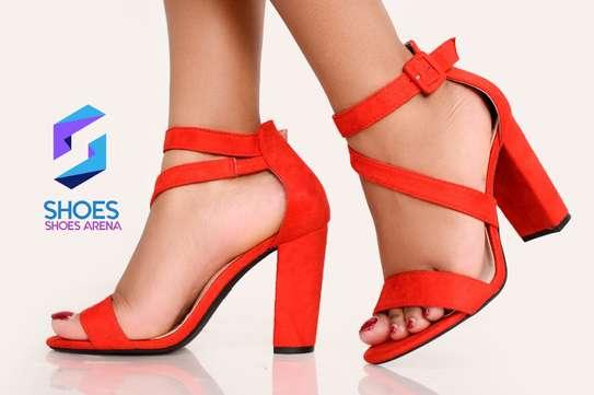 Classy chunky heels image 4