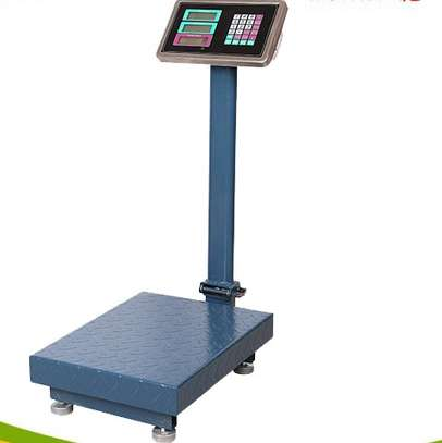 Digital Electronic Platform Weighing Scale Rechargeable Battery 150kg image 1