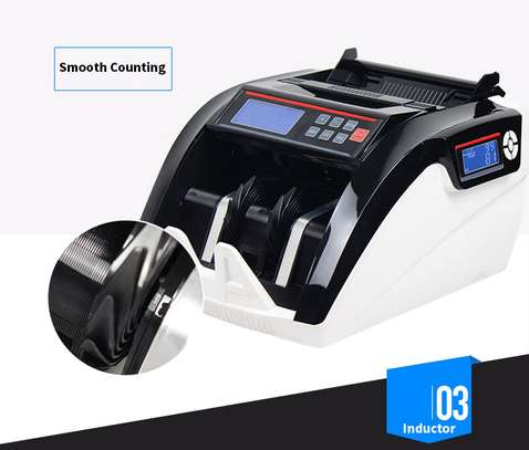 Fake Money Detector Banknote Money Counter 5800d Uv/mg Multi Currency Counting Machine